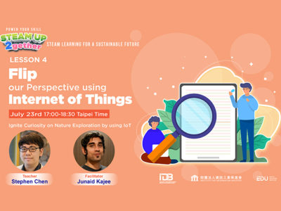 Lesson 04 Ignite Curiosity on Nature Exploration by using IoT